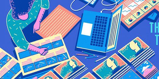 Áreas para trabalhar com  Design Gráfico